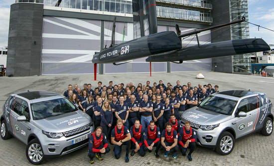 Land Rover BAR team