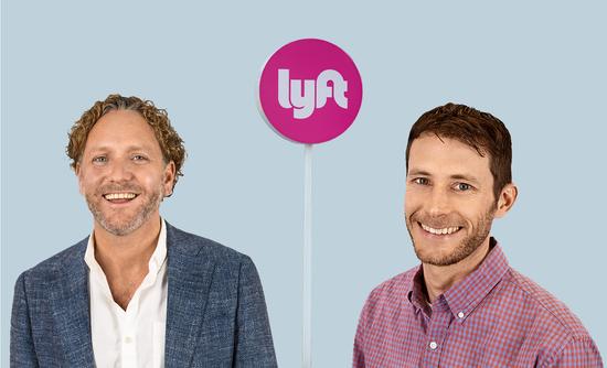 Mike Masserman and Sam Arons of Lyft sustainability