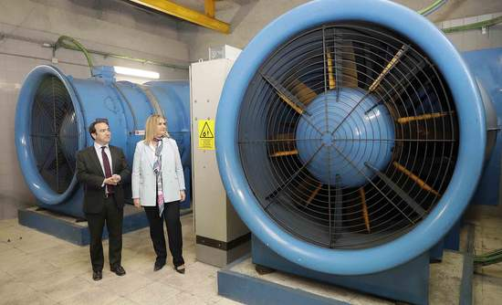 Madrid Metro, ventilation, artificial intelligence, Accenture