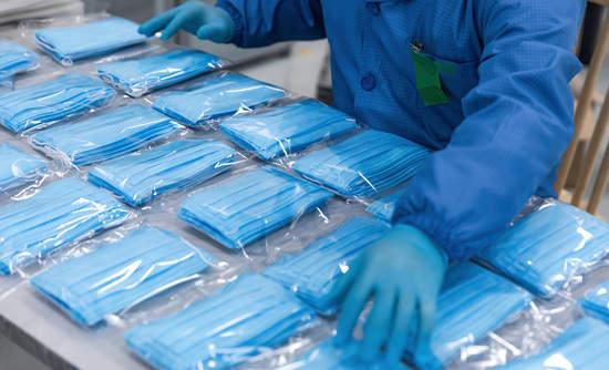 Medical mask production line