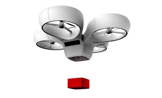 Design of a Matternet drone