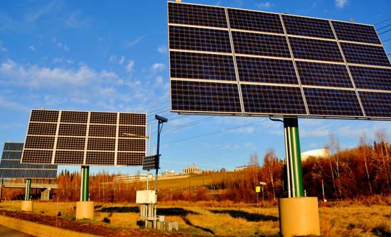 solar panel microgrid