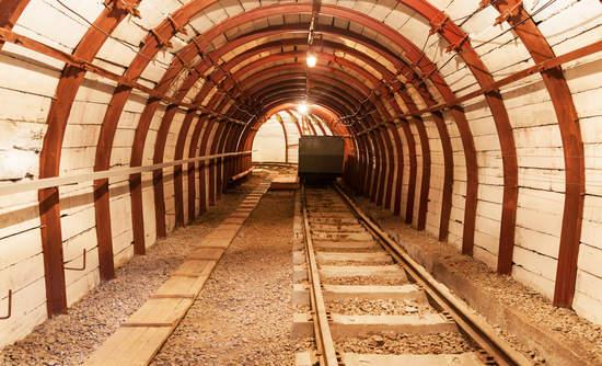 An underground coal mine