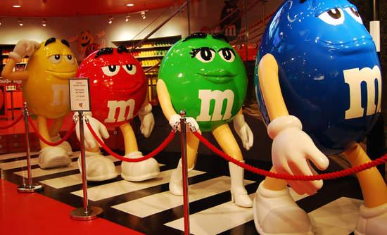 M&M, Mars.