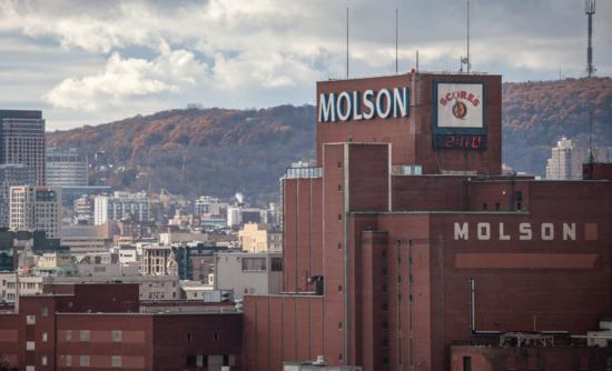 Molson Coors factory