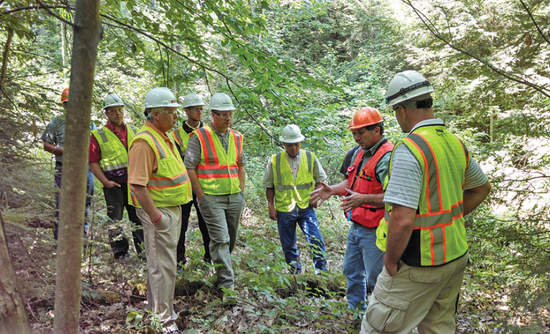 Tour of Menominee Tribal Enterprises (MTE) sawmill