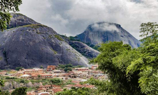The Idanre Hill in Nigeria