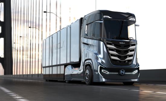 Nikola Tre truck