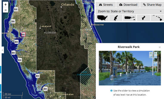 Mapping The Damage From Rising Seas Greenbiz