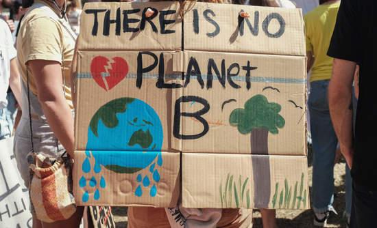 Youth protesters in climate strikes in Australia in September.