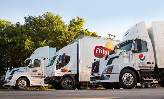 PepsiCo, FritoLay, Trucks, Fleet