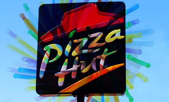 Pizza hut and straws