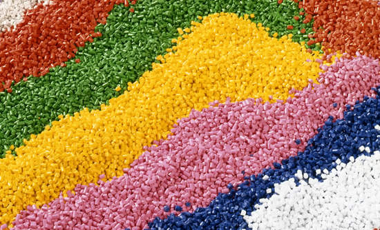 Raw plastic pellets