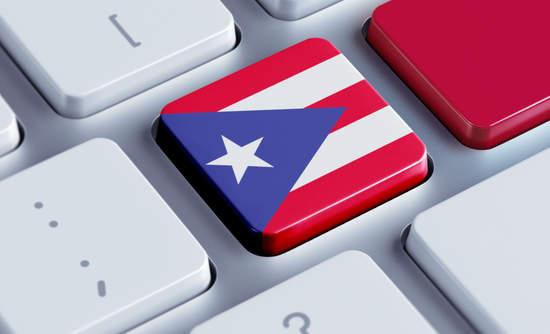Puerto Rico flag as a keyboard button