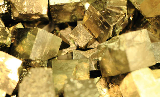Pyrite, otherwise known as fool's gold