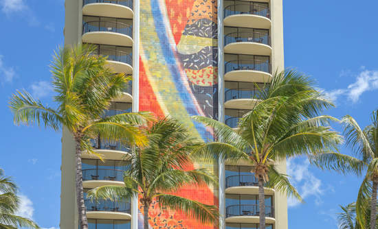Hilton Rainbow Tower in Waikiki, Honolulu, Hawaii