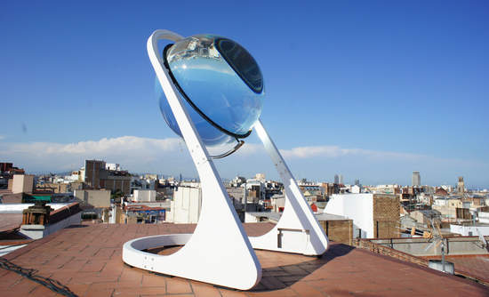 Rawlemon's Spherical Glass Sunpower Generator