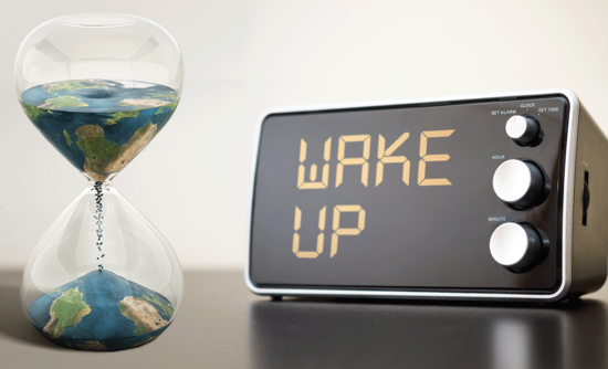How to wake people up to the risks of climate change
