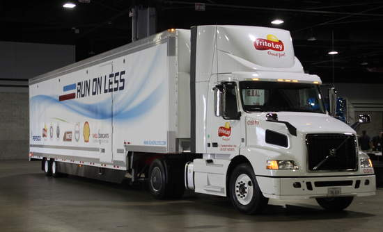Run on Less, Trucks, Freight Efficiency, Fuel Efficiency