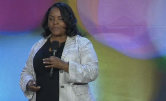 SaLisa Berrien, CEO, of COI Energy Services, on the VERGE 17 stage