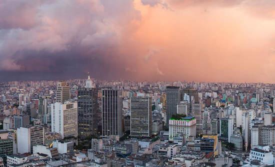 Aerial image of Sao Paulo