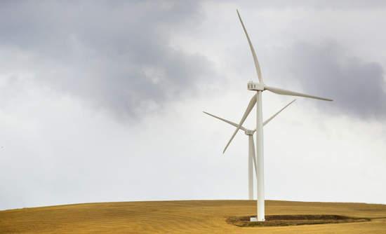 South African wind farm