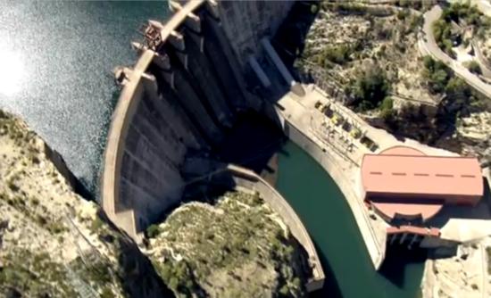 Iberdola hydroelectric pump station energy storage
