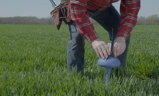 CropX farming data sensors water conservation