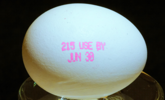 food expiration date egg