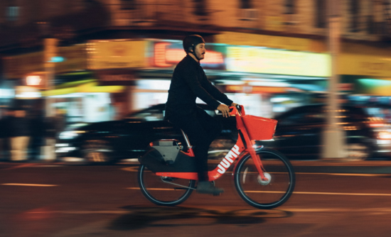 fc0a7c25eec Why Uber is buying e-bike sharing startup Jump Bikes. Katie Fehrenbacher.  Tuesday, April 10, 2018 - 6:33am. Jump Bikes