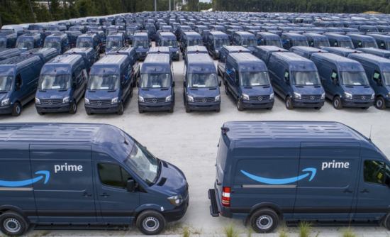 Amazon shipping could be a tipping point for electric fleets | GreenBiz