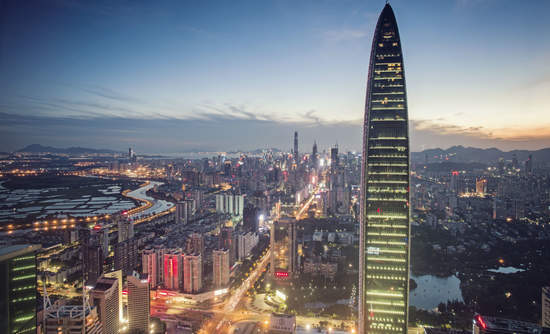 Shenzhen, China won a C40 Award for an emissions-trading scheme joined by more than 600 companies.