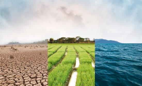 Climate risk, flood, drought, ocean
