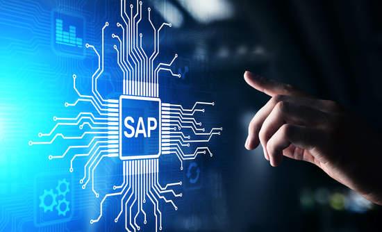 SAP logo, process