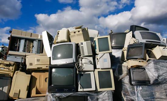 Electronic waste, PVS, BRF