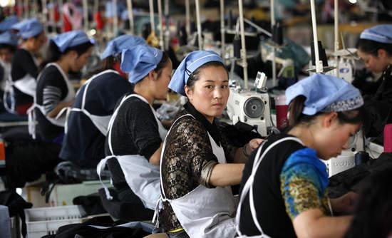 china, manufacturing, work