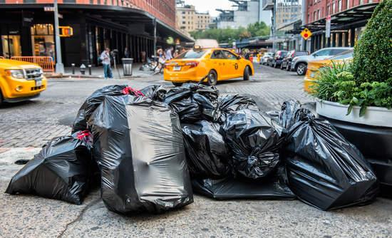 New York city trash