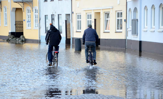 climate change, rising sea level