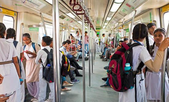 New Dehli electricity metro