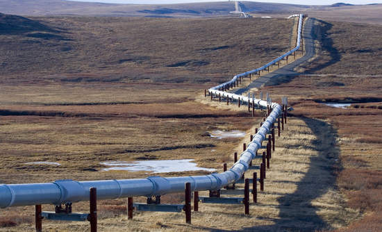 trans-alaska oil pipeline climate change