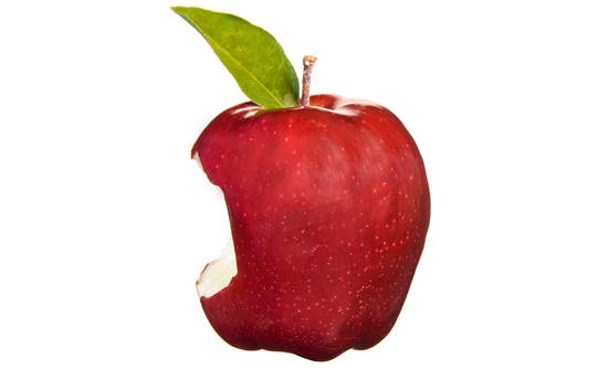 apple core bite food waste and city solutions