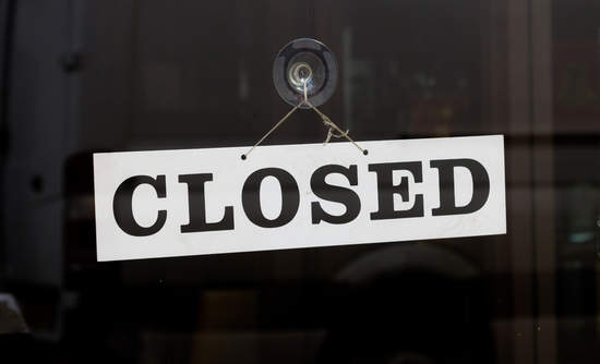 closed business, climate change and economic costs