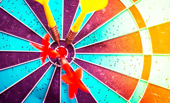 dart board targets for corporate sustainability