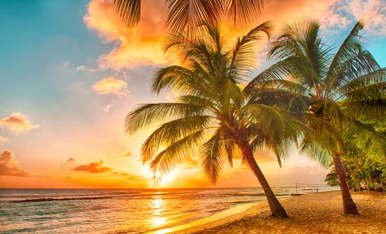 Island sunrise, Hawaii, Canary Islands, Alaska clean energy