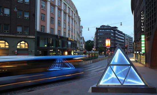 Helsinki, Finland urban transportation autonomous cars