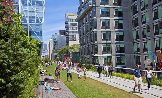 climate gentrification New York High Line