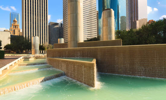 Houston, urban water management