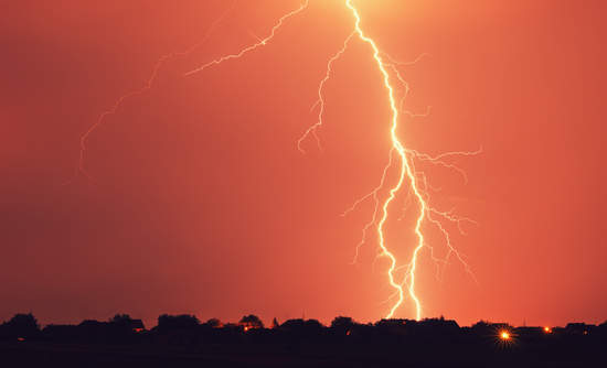 lightning sky science and sustainability