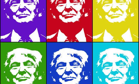 multicolor Donald Trump, paris climate agreement