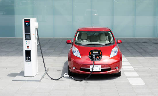 Nissan Leaf electric vehicle pooled purchases